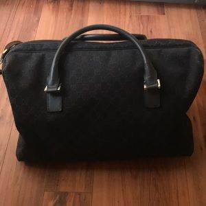 Authentic Gucci Duffle Bag